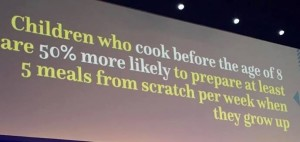 CHildren Cooking before age 8