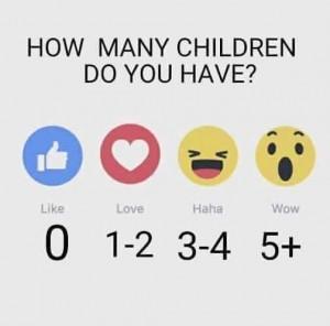 How many kids