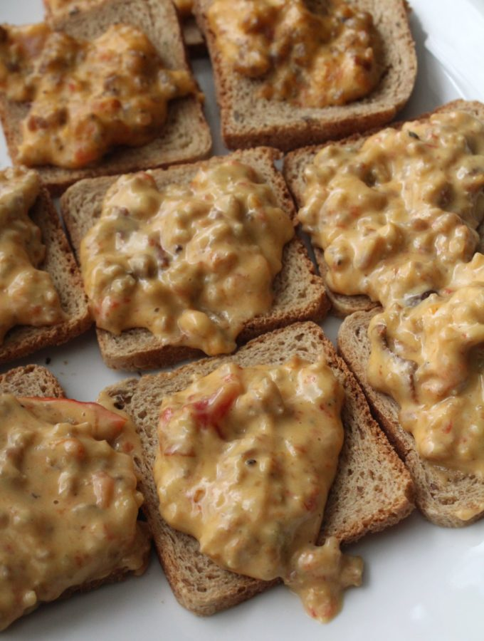 Sausage Hanky Panky Dip is the perfect recipe for entertaining the crowds!