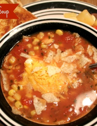 Chicken Tortilla Soup (via MyHeavenlyRecipes.com) - This recipe is amazing! Serve it with some tortilla chips or even a grilled cheese sandwich!