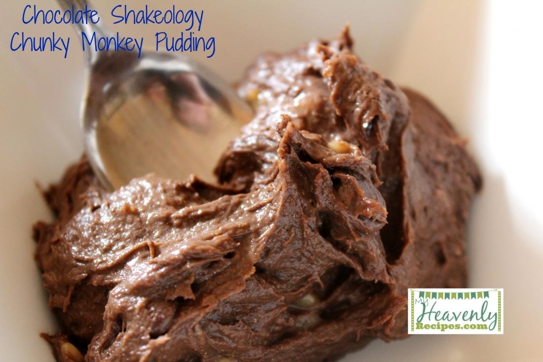 Chocolate Shakeology Chunky Monkey Pudding