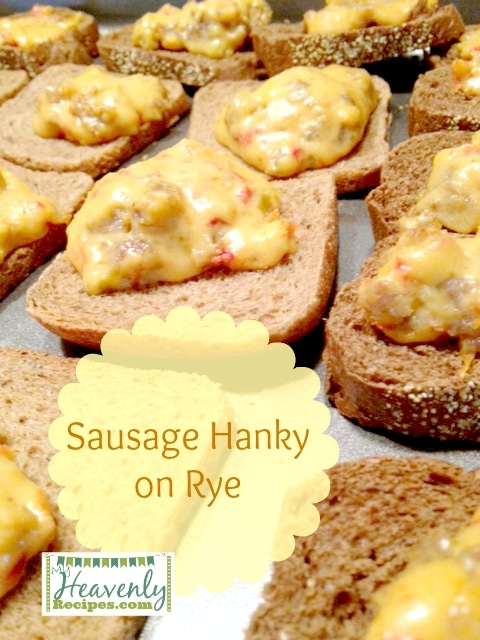 Sausage Hanky Panky Recipe (via MyHeavenlyRecipes.com) - The name of this recipe is funny...but it will get rave reviews from your family and guests when they want something amazing to nosh on!