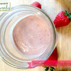 Strawberry Smoothie Recipe + Video