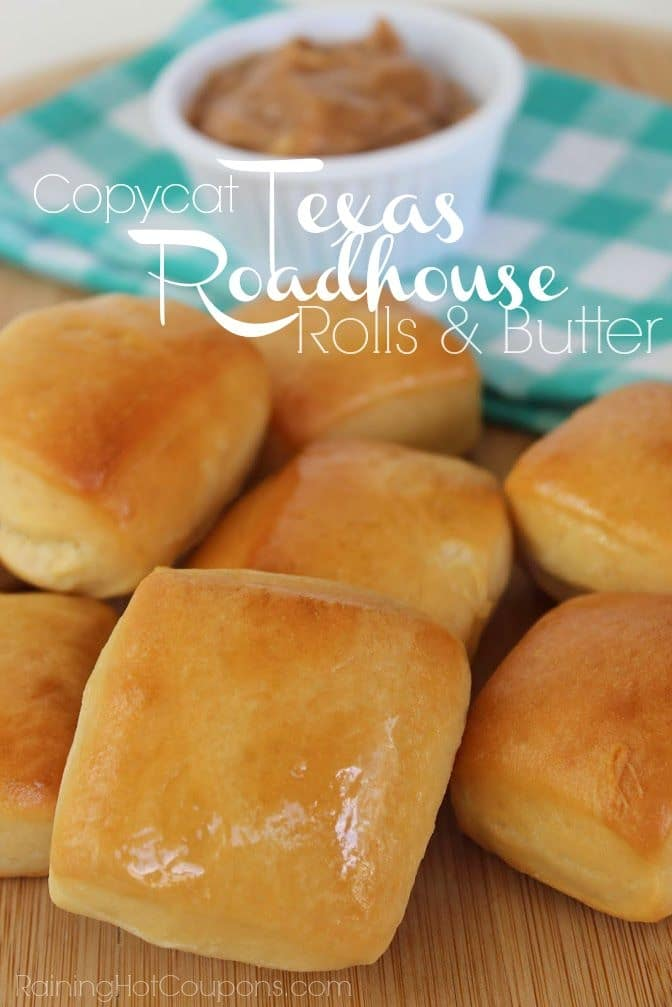 Texas Roadhouse Rolls Recipe {With Cinnamon Butter}