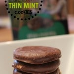 homemade Girl Scout Thin Mint cookies