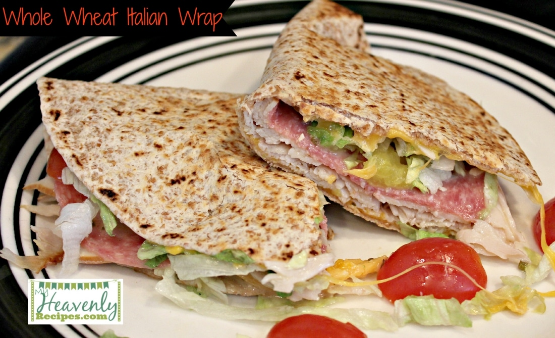Whole Wheat Italian Wrap