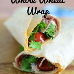 Italian Lunchmeat Whole Wheat Wrap