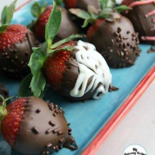 Chocolate Covered Strawberries + Video