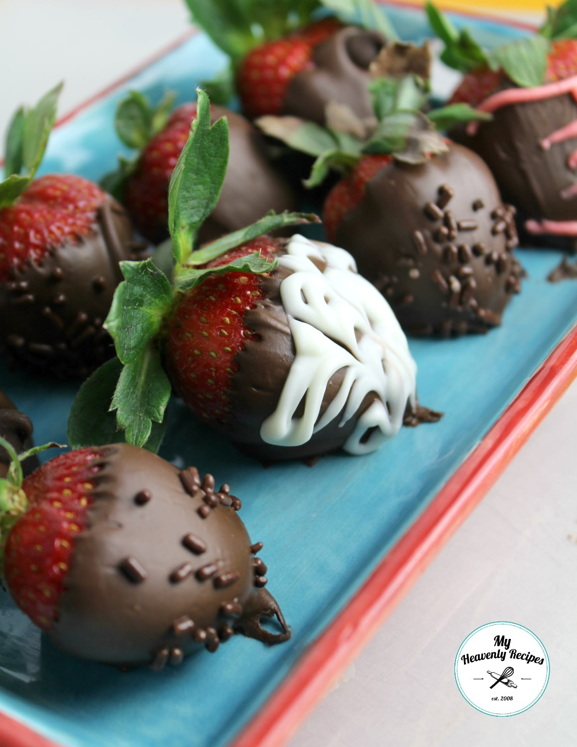 Chocolate Covered Strawberries Recipe Video My Heavenly Recipes