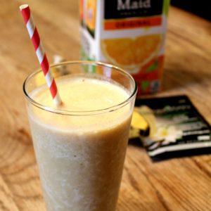 Shakeology Recipes   Vanilla Dreamsicle Shake + Video