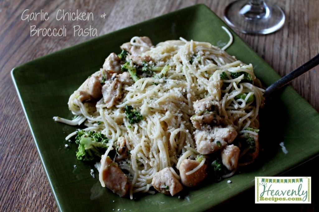 Garlic Chicken and BrocoliPasta