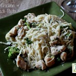 Garlic Chicken and Broccoli Pasta