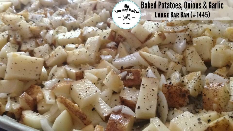 You can season this potato and onion recipe however you see fit. Have cooked bacon? Sprinkle it on with some cheese! Try this basic staple recipe along side dinner tonight.
