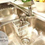 How to Clean a Stainless Steel Sink with 1 Ingredient + Video Tutorial