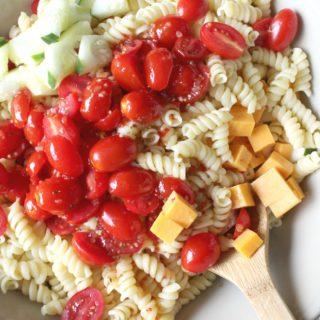 Italian Pasta Salad + Video