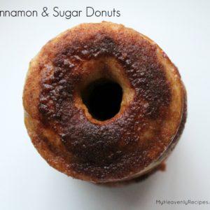 Cinnamon & Sugar Donut