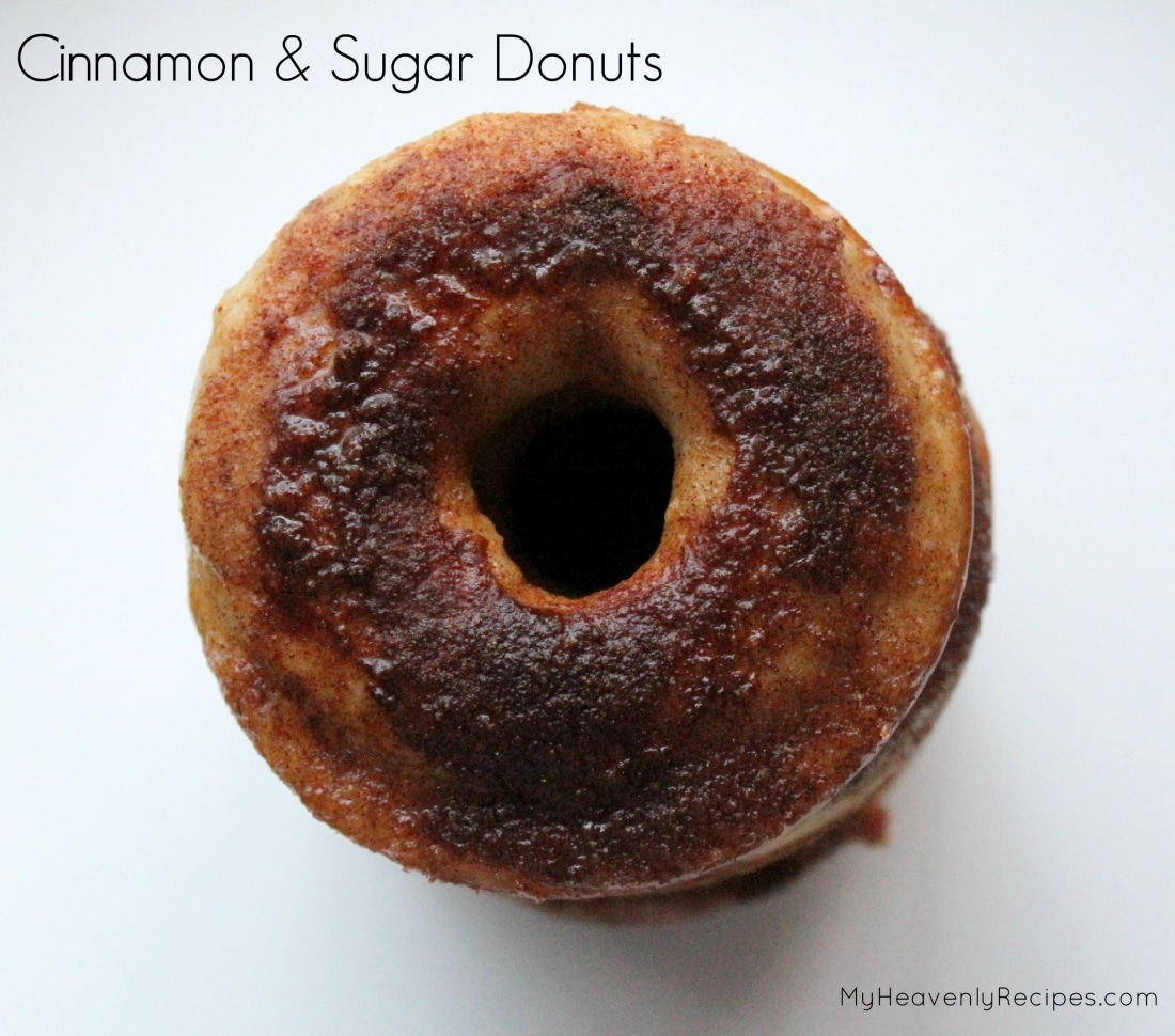 Cinnamon and Sugar Donuts