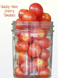 How to Effectively Cut Cherry Tomatoes In Half