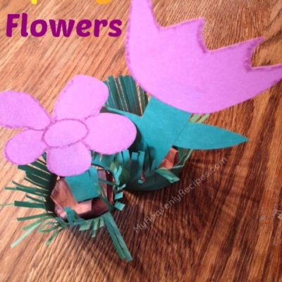 spring flowers made out of paper