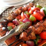 Super Simple Steak and Chicken Kabobs