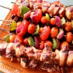 Steak and Chicken Kabobs are our families favorite spring and summertime go to meals.