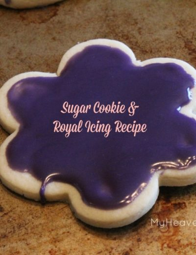 titled photo (and shown): Soft Sugar Cookie and Royal Icing Recipe