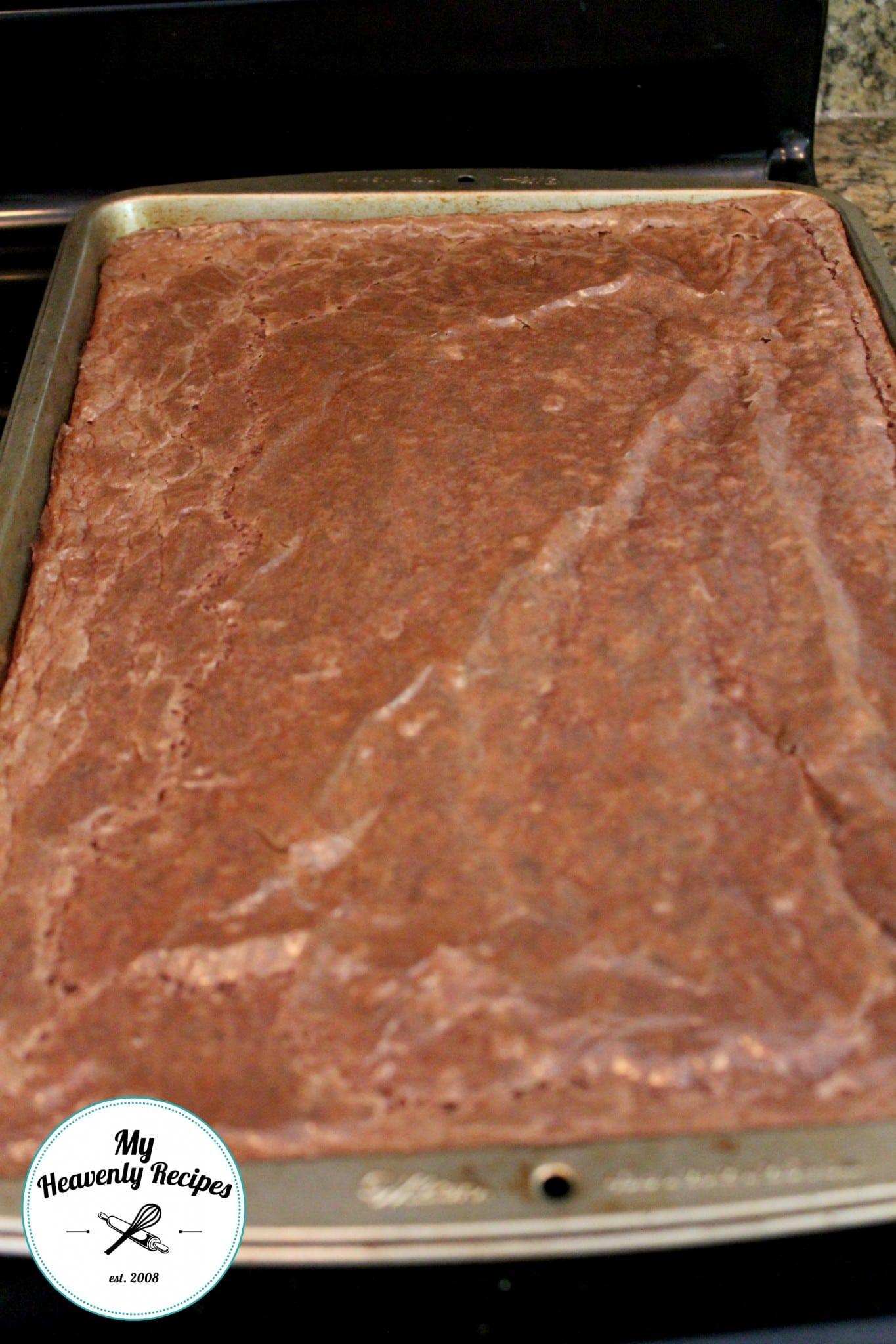 Bakery Style Fudge Brownie Baked Brownie