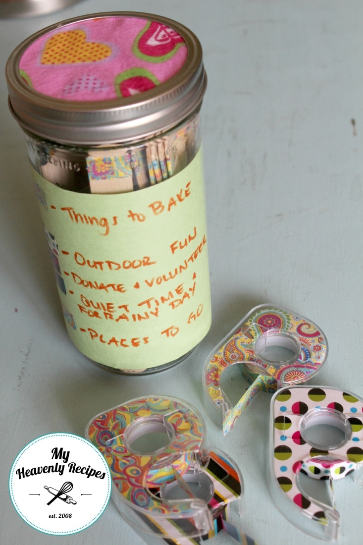 DIY Boredom Jar That Involves Giving Back
