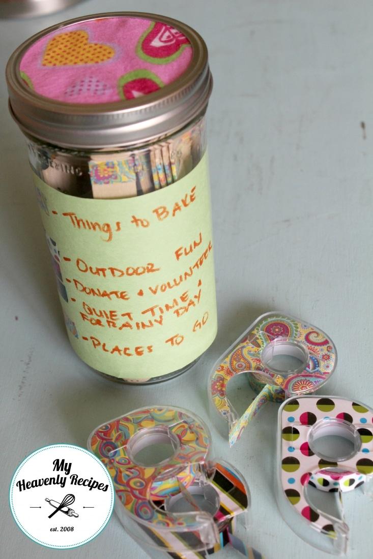 DIY Boredom Jar That Involves Giving Back