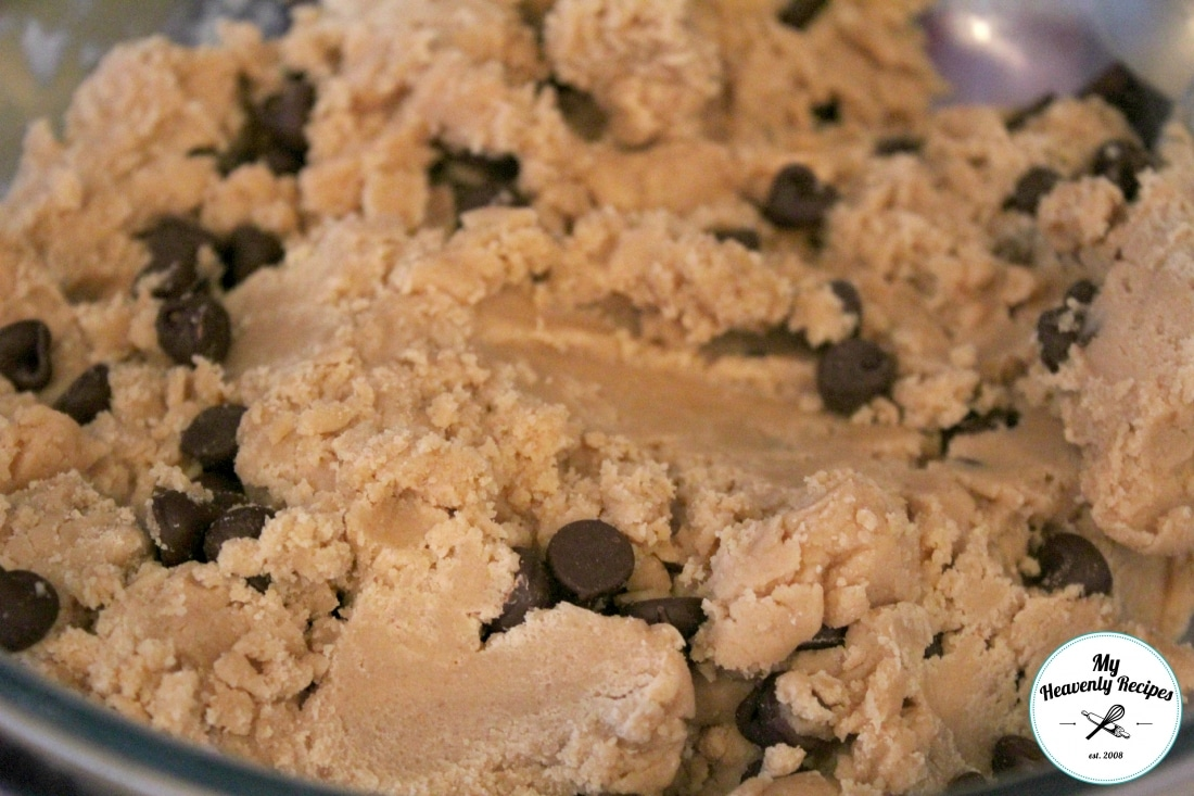 Chilled Chocolate Chip Cookie Dough
