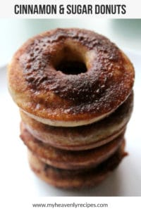 Cinnamon and Sugar Donut Featured Image