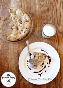 S'more Cookie Pie