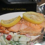Foiled Lemon Grilled Salmon
