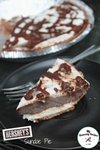 Herhsey Sundae Pie Piece