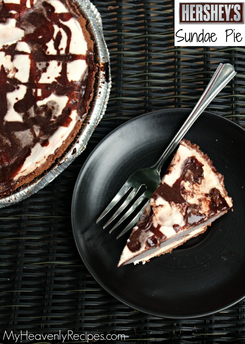 Homemade Hershey Sundae Pie + Video