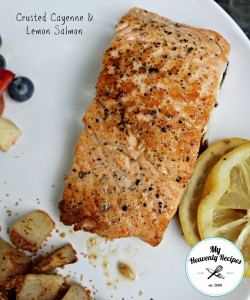 Crusted Cayenne & Lemon Salmon