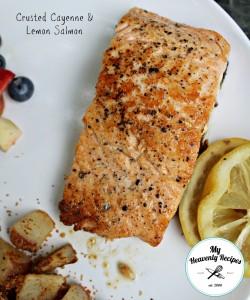 Crusted Cayenne & Lemon Salmon
