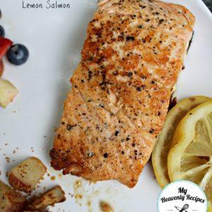 Pan-Seared Cayenne Lemon Salmon