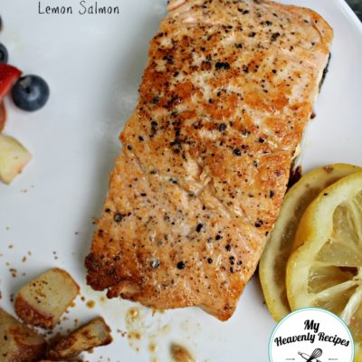 cayenne lemon salmon fillet