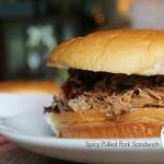 Spicy Pulled Pork {Sandwiches}