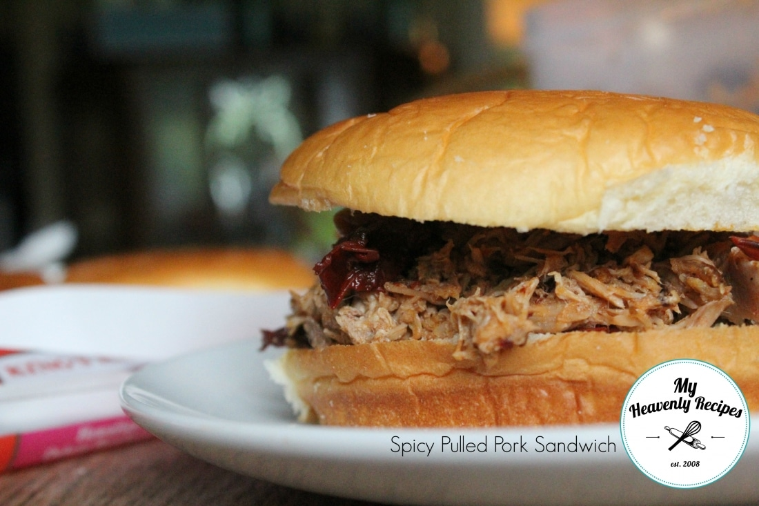 Spicy Pulled Pork Sandwich Final