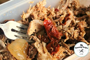 Spicy Pulled Pork Shredded Meat