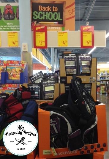 Aldi backpacks