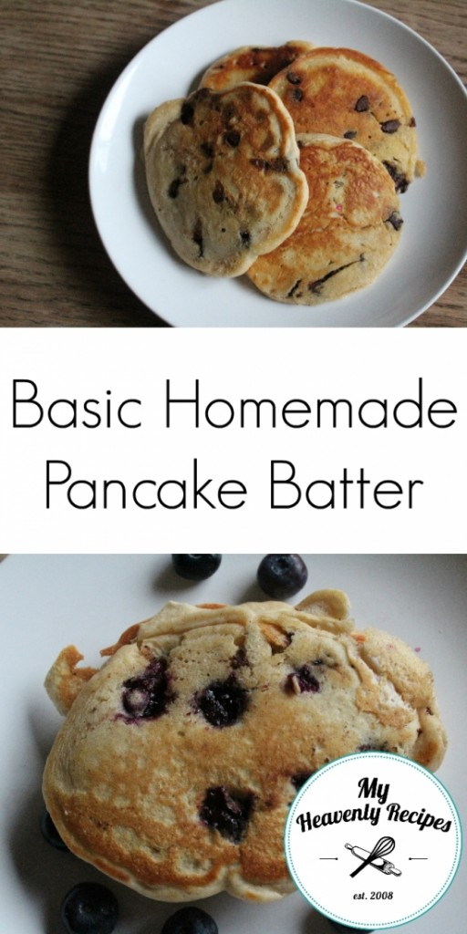 Basic Homemade Pancake Batter