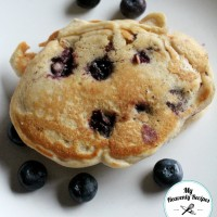 Blueberry Pancakes are a must try pancake recipe. They are sweet and colorful way to start your morning.
