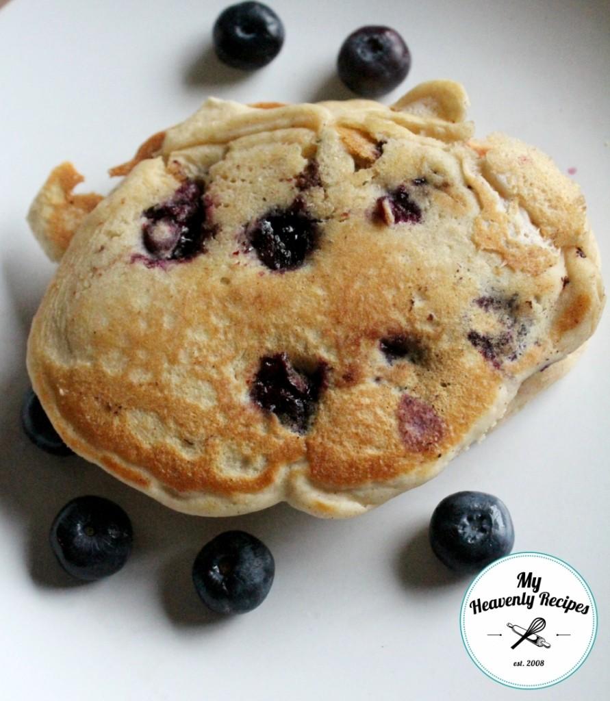 Blueberry Pancake Recipe - My Heavenly Recipes