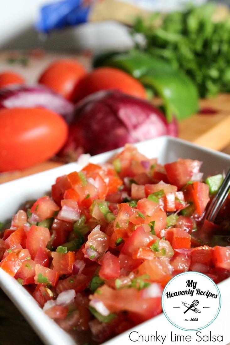 Chunky Lime Salsa Recipe