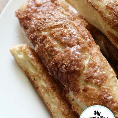 homemade cinnamon bread sticks