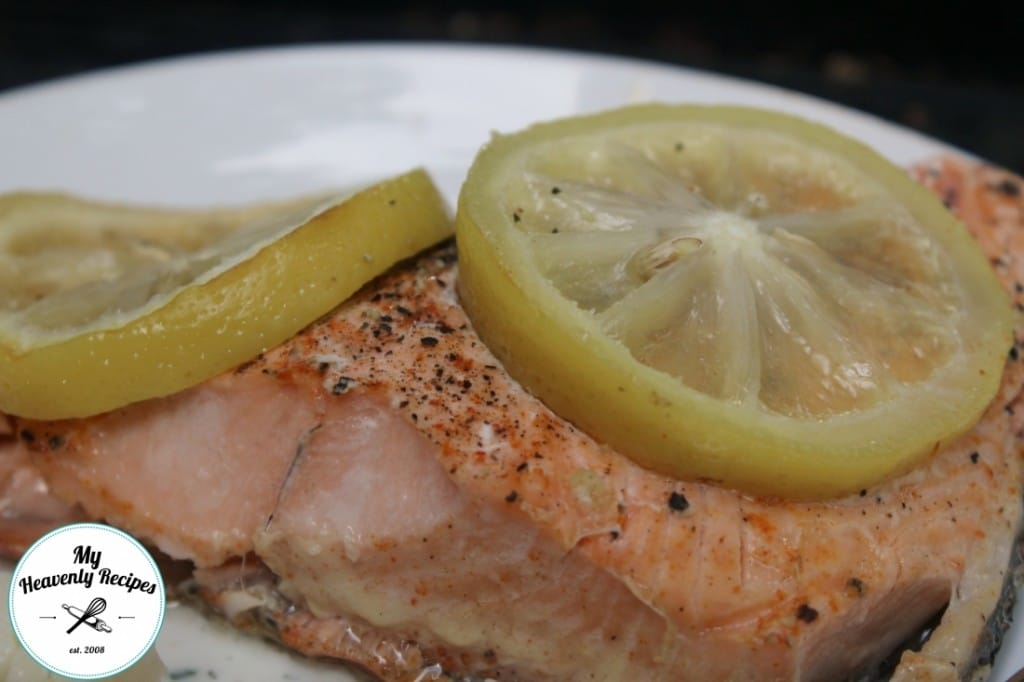 Foil Grilled Salmon 2