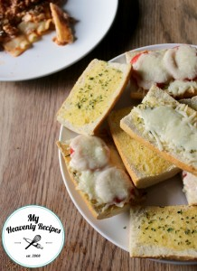 Homemade Garlic Bread My Heavenly REcipes
